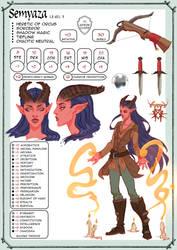 Semyaza Character Sheet by moni158