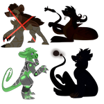 [Open: Ota] Glowing baubles by DiavolosLingerie