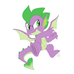 Sparkle - Winged Spike by EMositeCC