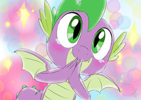 Spike's Happy! by EMositeCC