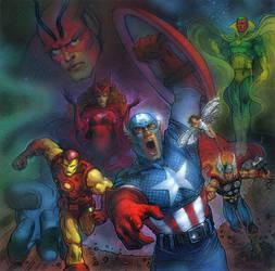 Avengers Assemble by TereseNielsen