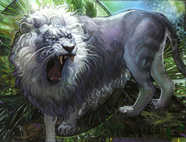 Proudeye Lion by TereseNielsen