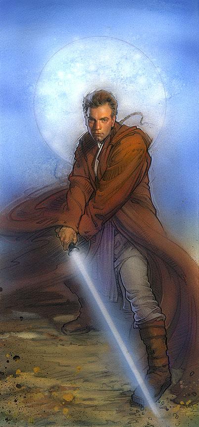 Obi-Wan Kenobi by TereseNielsen