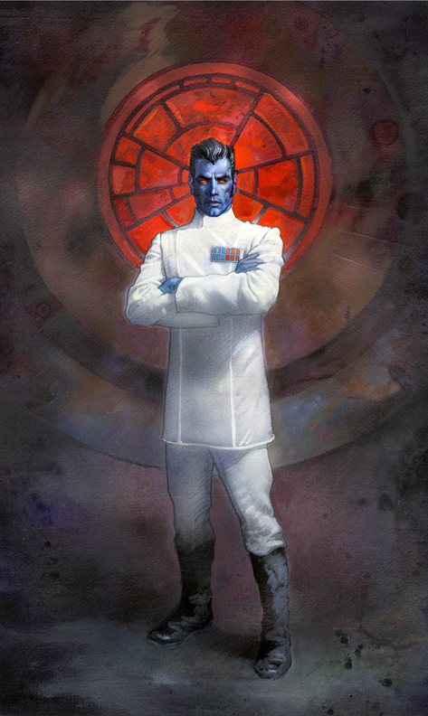 Star Wars: Admiral Thrawn by TereseNielsen