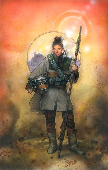 Star Wars: Leia Boushh by TereseNielsen