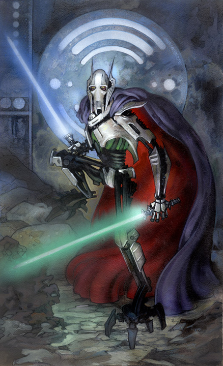 Star Wars: General Grievous by TereseNielsen