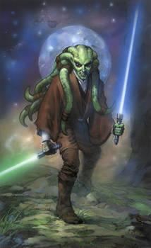 Star Wars: Kit Fisto by TereseNielsen