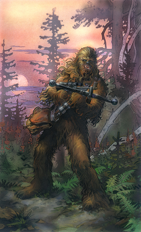 Star Wars: Chewbacca by TereseNielsen