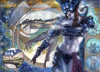 Silverskin Armor by TereseNielsen