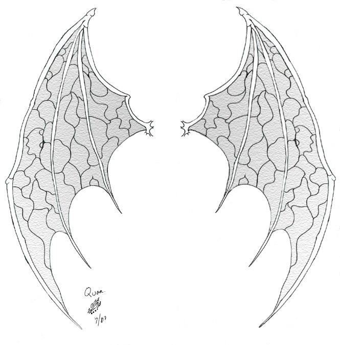 devil wings tattoo by qbsamurai on deviantart. Black Bedroom Furniture Sets. Home Design Ideas