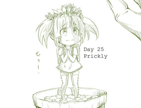 Day 25 Prickly Cactus-chan
