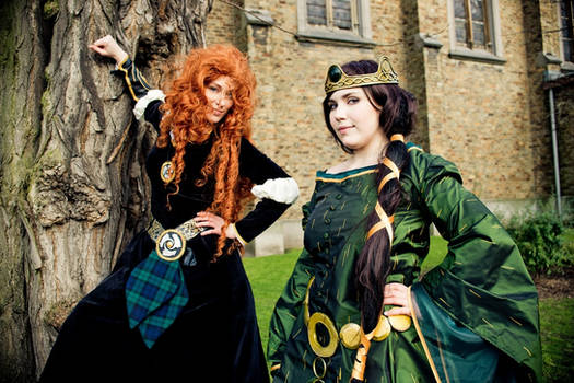 Elinor from Brave Cosplay
