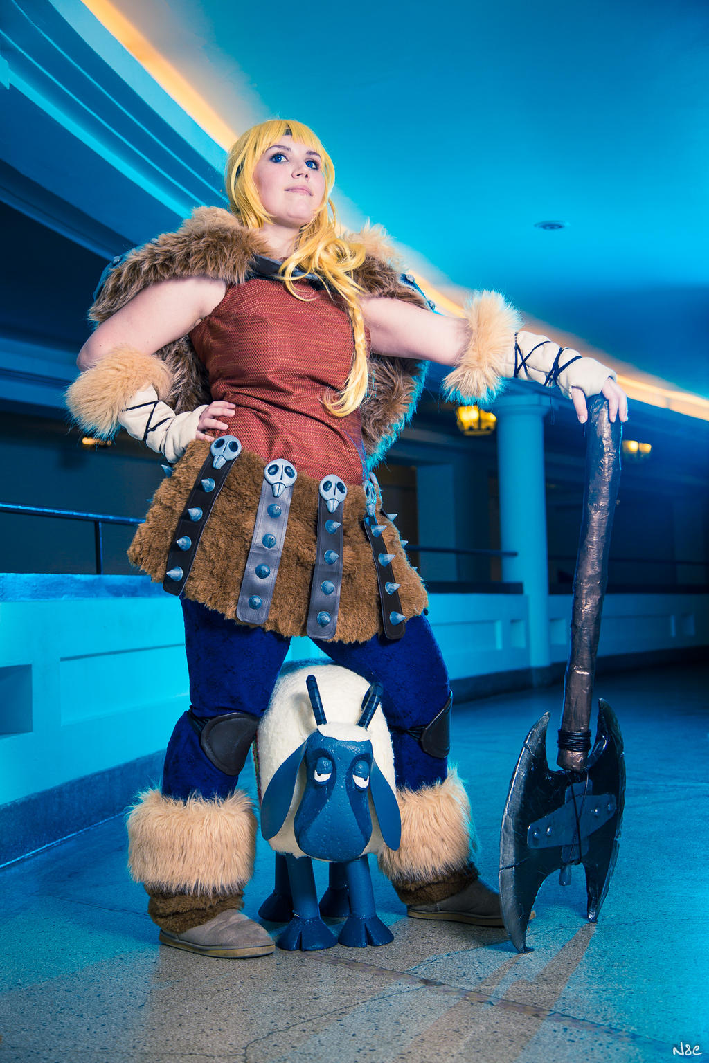 Astrid from How to train your dragon 2 cosplay by PeytonCosplay