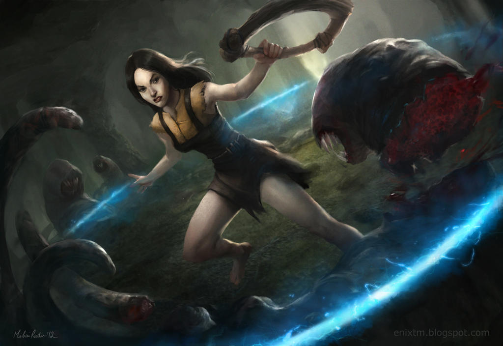 Path Of Exile Wallpaper: Path Of Exile Witch By MihaiRadu On DeviantArt