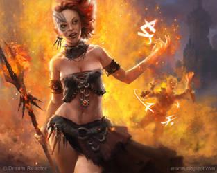 Word of Fire by MihaiRadu