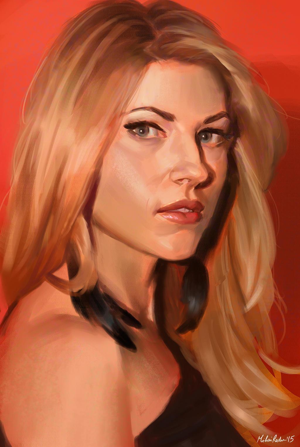 Katheryn Winnick by MihaiRadu