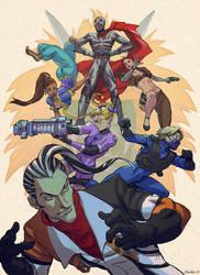 Street Fighter EX fanart