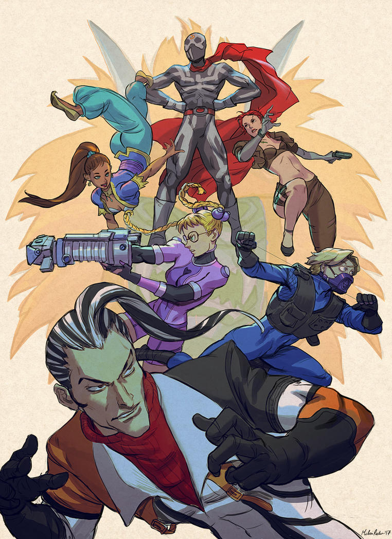 Street Fighter EX fanart by MihaiRadu