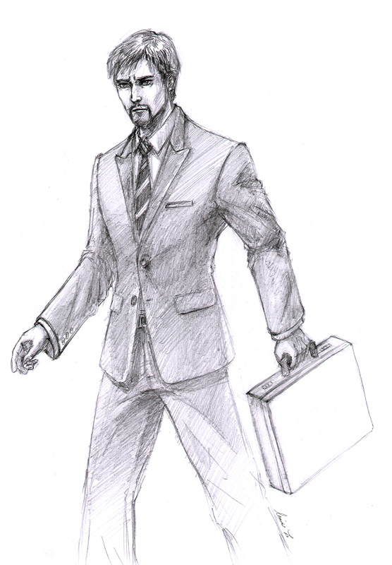 Ceo tony stark sketch by spiffiness on deviantart for Tony stark coloring pages