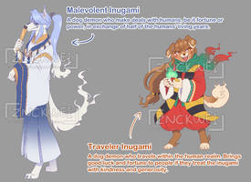 Inugami Themed Adoptables [OPEN] by cerberus-monk