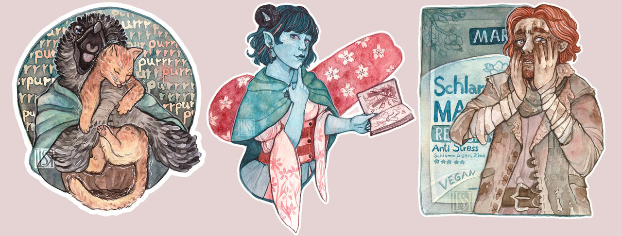 Critical Role Sticker by Lisk-Art