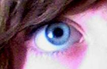 Eye of Blue by fallenxsnowxangel