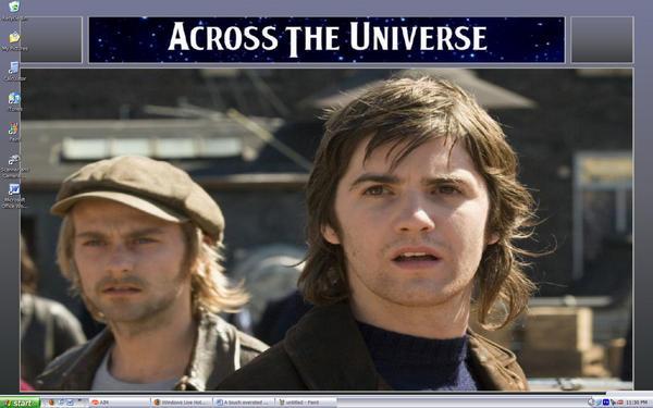 Across the Universe desktop by fallenxsnowxangel