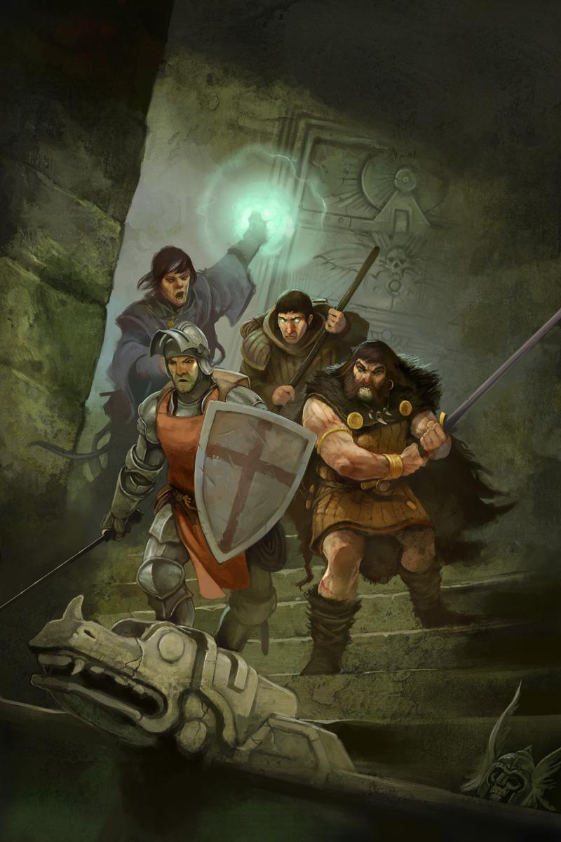 Dragon Warriors by JonHodgson