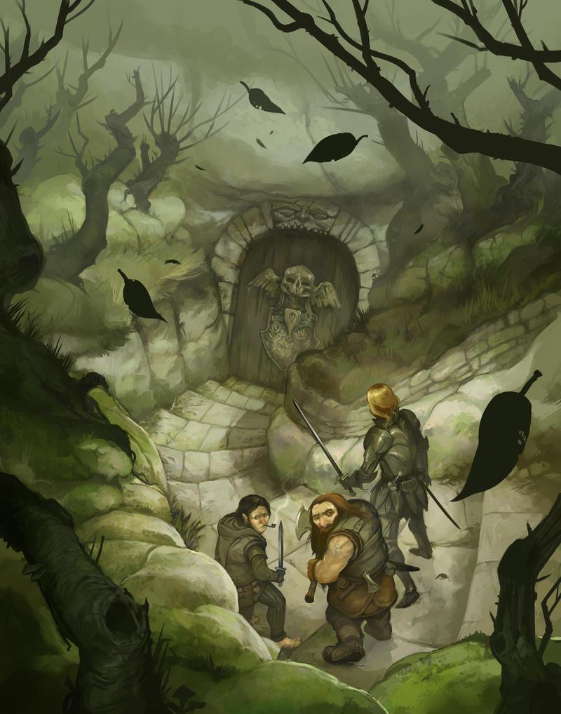 The Quest for Adventure by JonHodgson