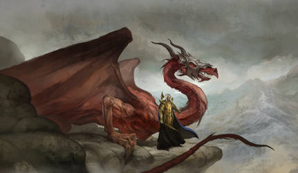 Dragon's Reign by JonHodgson