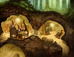 Gnome Warren by JonHodgson