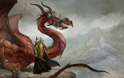 Dragon Reign Wall Paper