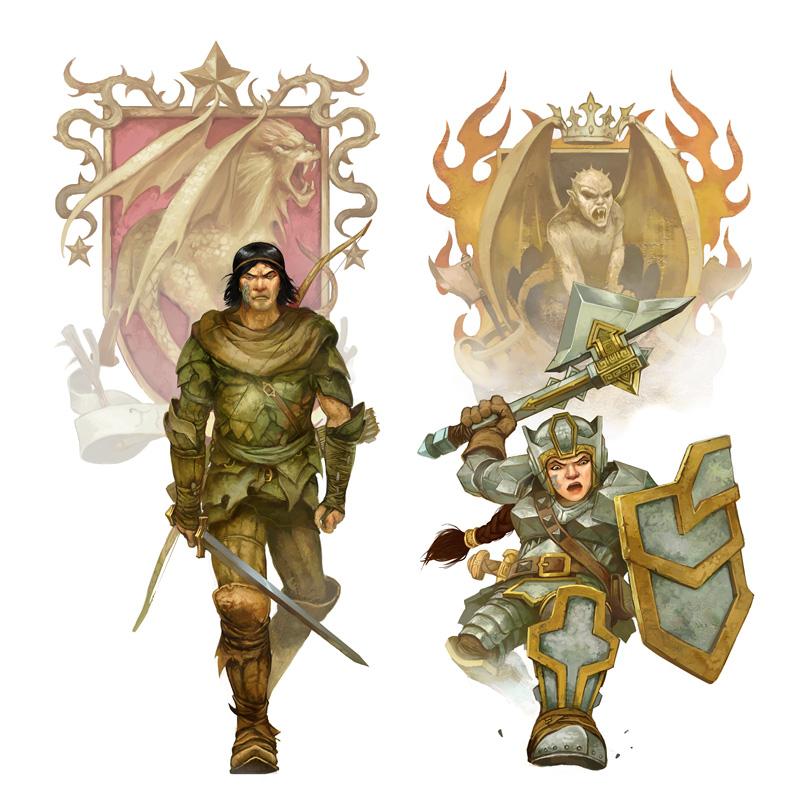 Eberron Characters by JonHodgson
