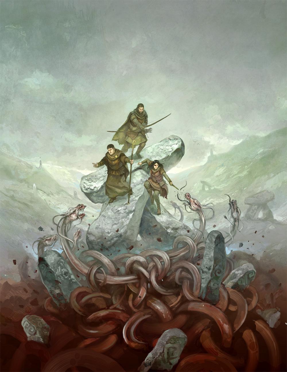 Dragon Warriors Players' Book by JonHodgson