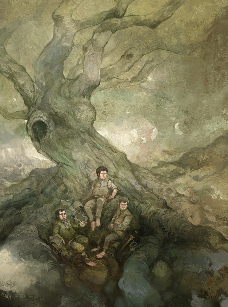 Halflings by JonHodgson