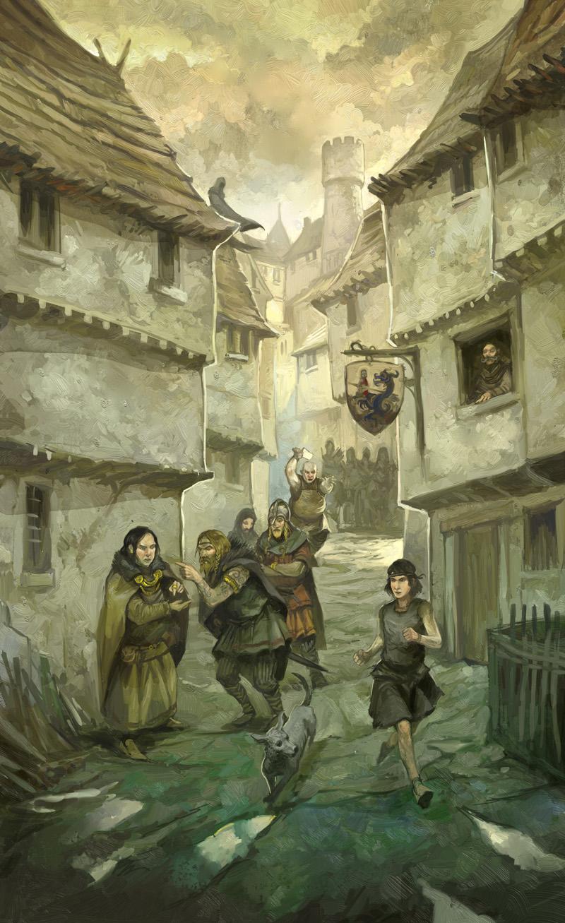 Alley by JonHodgson