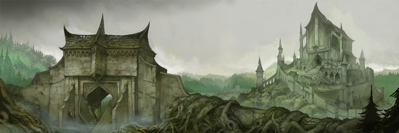 Dol Guldur by JonHodgson on DeviantArt