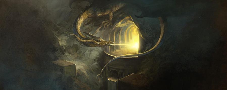 Smaug by JonHodgson