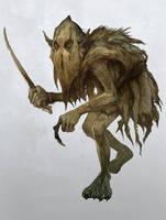 Misty Mountains Goblin by JonHodgson
