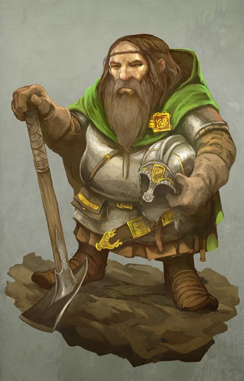 Dwarf by JonHodgson