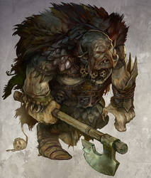 Great Orc by JonHodgson