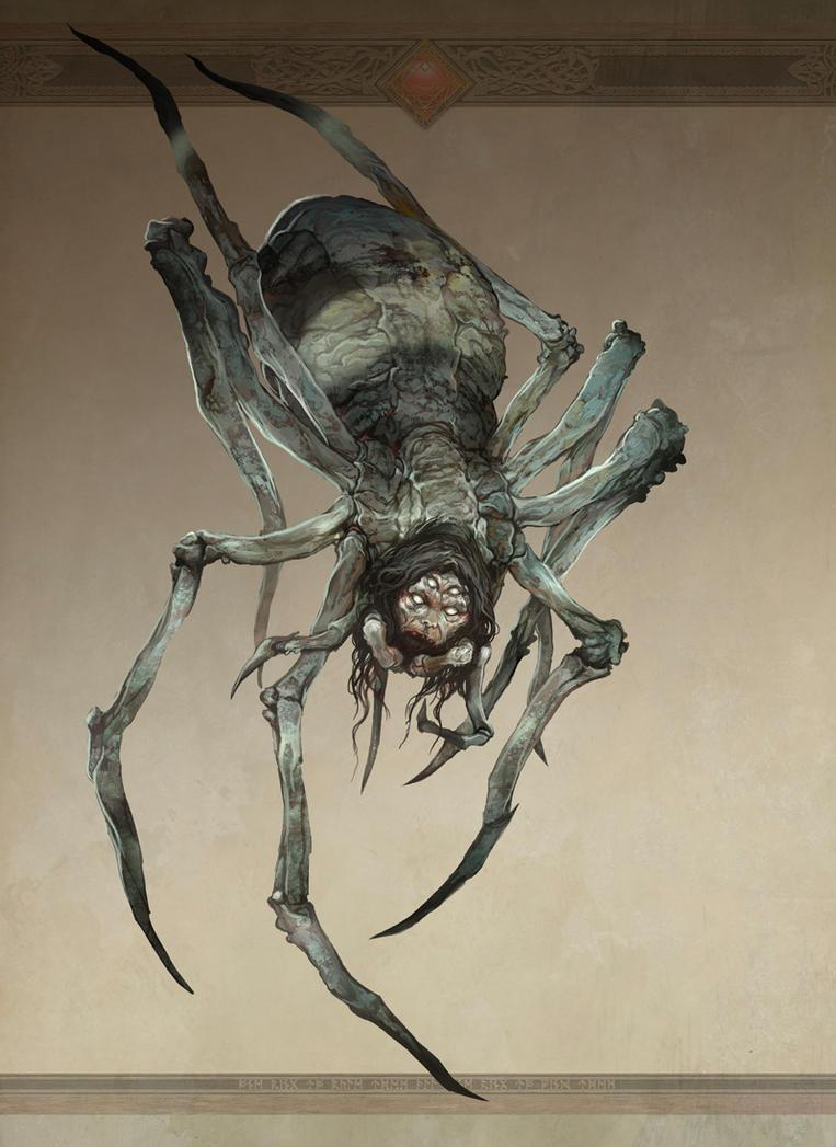 Great Spider of Mirkwood by JonHodgson