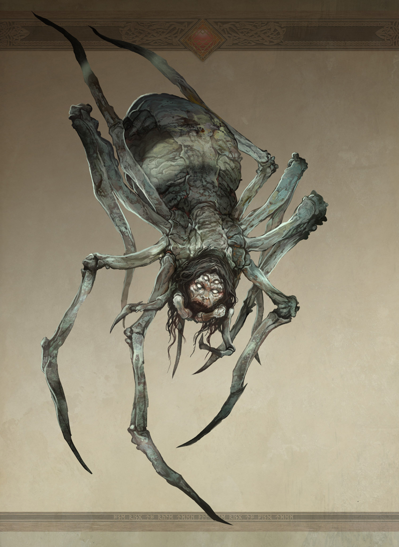 Great Spider of Mirkwood by JonHodgson