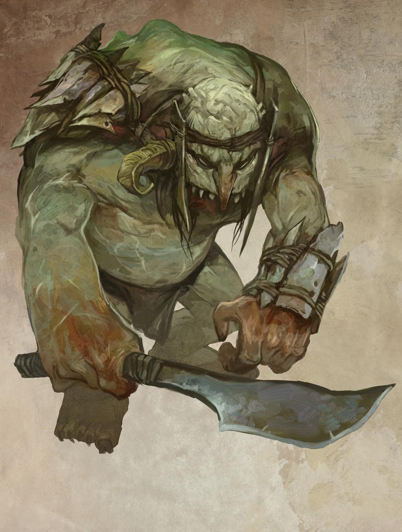Hill Troll by JonHodgson