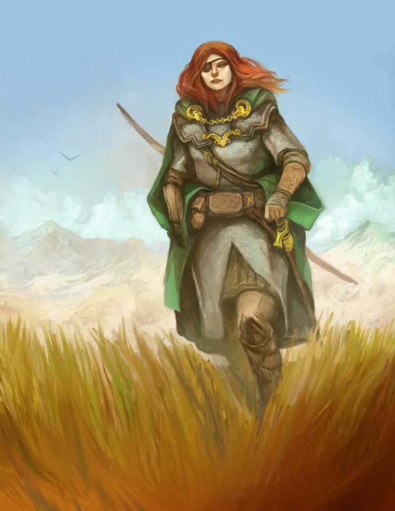 Barding Wanderer by JonHodgson