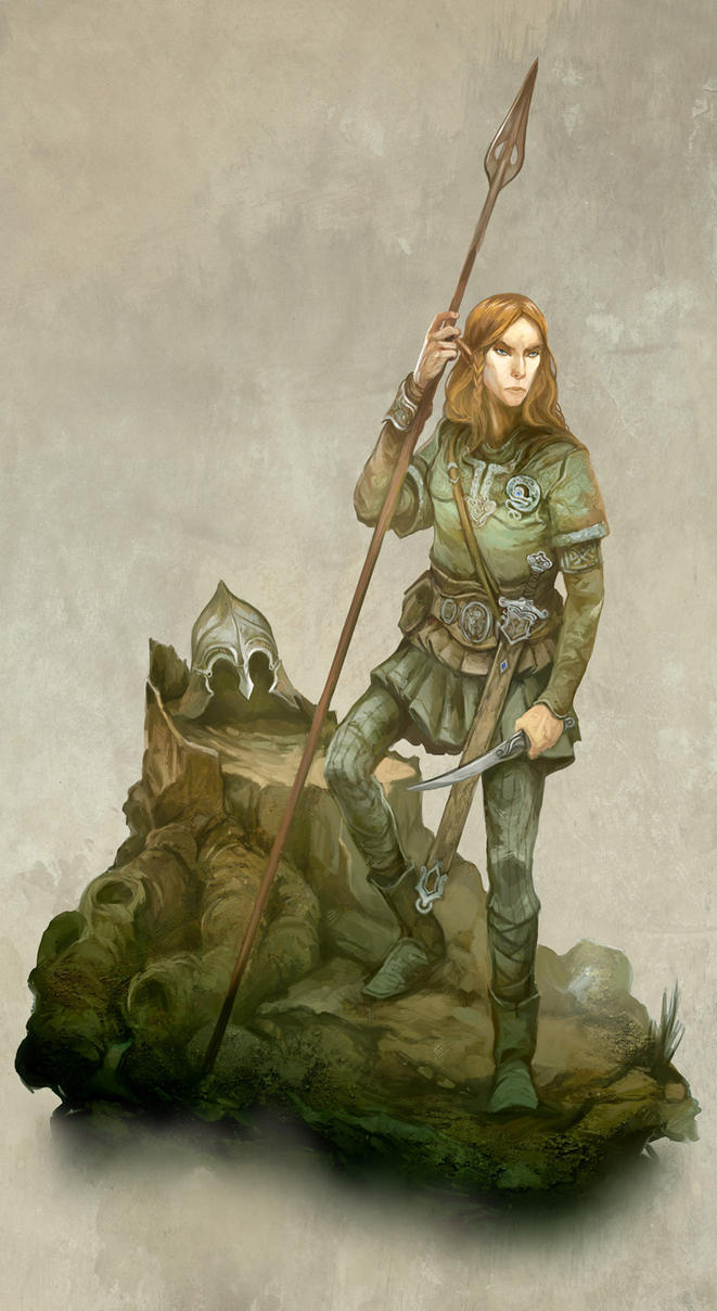 Elf Scholar by JonHodgson