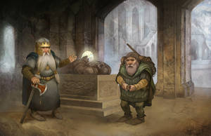 Dwarf Adventurer by JonHodgson
