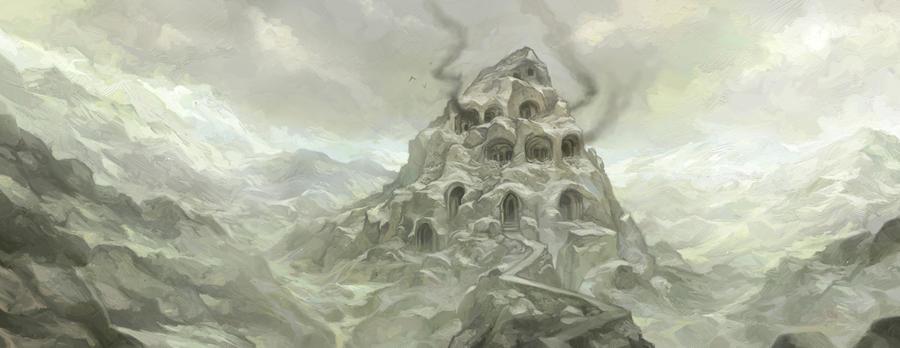 Watchtower on the Heath by JonHodgson