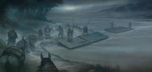 Boarding the Rafts by JonHodgson