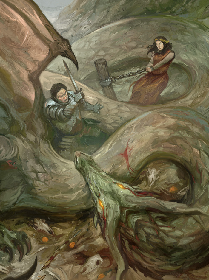 Saint George Dragon: St George And The Dragon By JonHodgson On DeviantArt